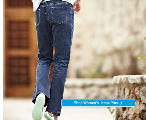 We've reinvented denim. Again. Softer, lighter, less weight, more packable, more comfortable. Shop Women's Jeans Plus.