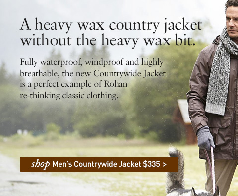 NEW Countrywide Jacket. $335. A heavy wax country jacket without the heavy wax bit. SHOP Men's Countrywide Jacket.