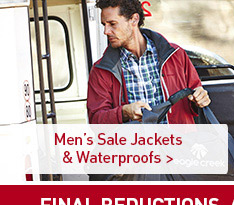 Men's Sale Jackets & Waterproofs. SHOP NOW.