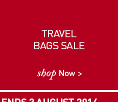 Travel Bags Sale. SHOP NOW.