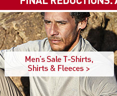 Men's Sale T-Shirts, Shirts & Fleeces. SHOP NOW.