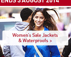 Women's Sale Jackets & Waterproofs. SHOP NOW.