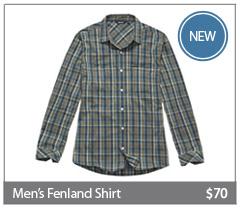 NEW Men's Fenland Shirt. $70. Buy now.