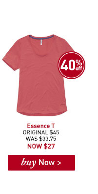 Women's Essence T. ORIGINAL $45. WAS $33.75. NOW $27. BUY NOW.