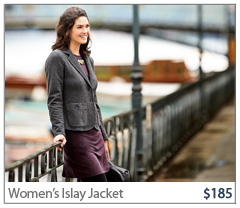 Women's Islay Jacket. $185. Buy Now.