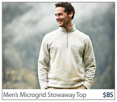 Men's Microrib Stowaway Top. $85. BUY NOW.