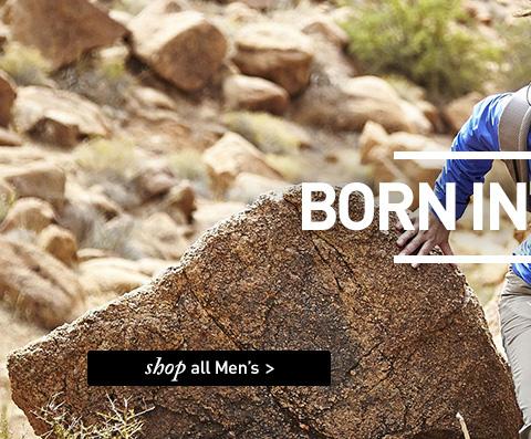 BORN IN BRITAIN. SHOP All Men's.