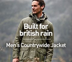 Built for British Rain. Men's Countrywide Jacket.