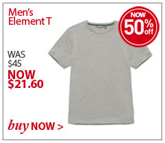 Men's Element T. WAS $45. NOW $21.60. SAVE 50% Buy Now.