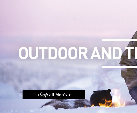 OUTDOOR AND TRAVEL CLOTHING. SHOP All Men's.