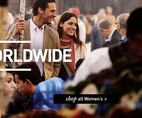WORN WORLDWIDE. SHOP All Women's.