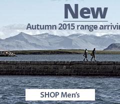 NEW Autumn 2015 range arriving now. Shop Men's.