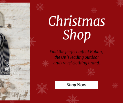Find the perfect gift at Rohan, the UK's leading outdoor and travel clothing brand.