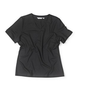 Women's Short Sleeved Basis T - Black