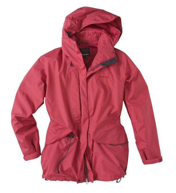 Versatile, mid-length waterproof jacket