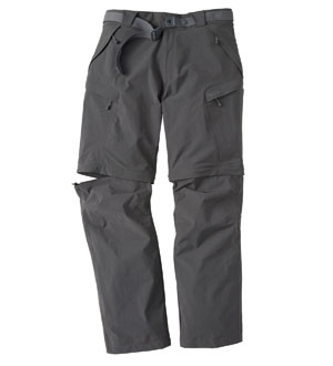 Technical walking trousers.