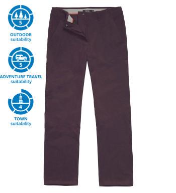 Versatile walking trousers.
