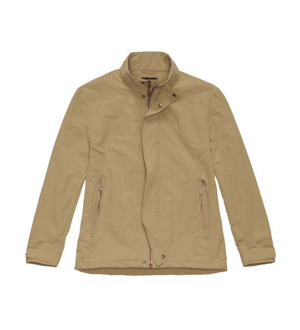 Technical travel jacket