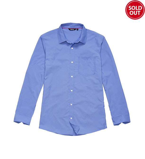 Technical, smart-casual shirt.