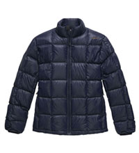 Lightweight, technical down jacket