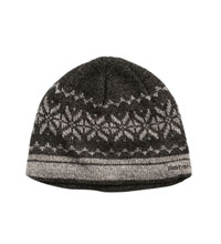 Warm, knitted hat.