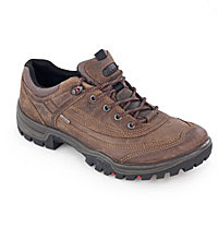 Rugged, waterproof walking shoes.