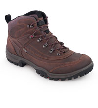 Rugged, waterproof walking boots.