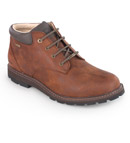 Traditional, chukka style walking boot.