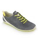 Lightweight lace-up sports shoe.