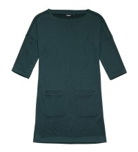 Technical, relaxed fit jersey tunic.