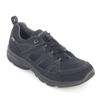 Lightweight, waterproof, trainer-style shoe.