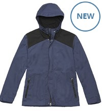 Lightweight travel jacket made in our 'Bags' fabric.