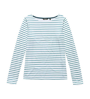 Technical long sleeve top.