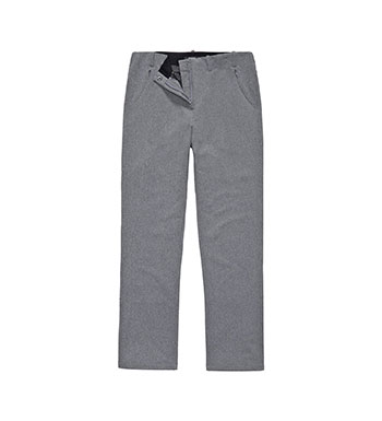 Versatile, fleece-backed trousers.