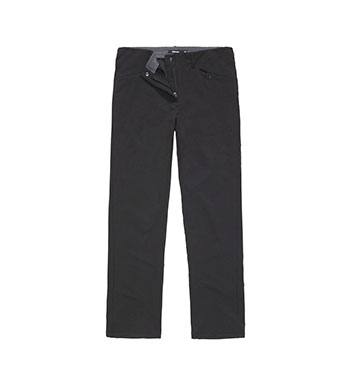 Technical, warm, stretch trekking trousers.