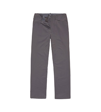 Technical, warm, stretch trekking trousers.