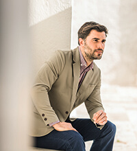 Mens Outdoor Jacket, Travel Jackets, Linen Jackets by Rohan
